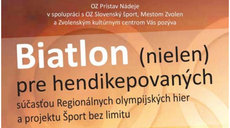 ZV – Biatlon (nielen) pre hendikepovaných