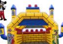 Skákací hrad s maskotmi na prenájom
